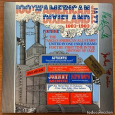 Discos de vinilo: ANGLO-AMERICAN ALL STARS (JOHNNY MINCE & KEITH SMITH): 100 YEARS AMERICAN DIXIELAND JAZZ (1883-1983). Lote 180903916