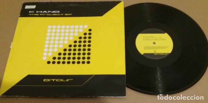 K HAND / THE PROJECT EP / MAXI-SINGLE 12 INCH (Música - Discos de Vinilo - Maxi Singles - Techno, Trance y House)