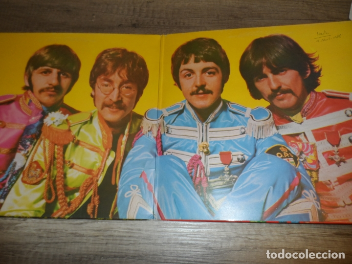Discos de vinilo: THE BEATLES - SERGEANT PEPPERS LONELY HEARTS CLUB BAND (SPAIN 1967) (LABEL GRIS) - Foto 2 - 180911337