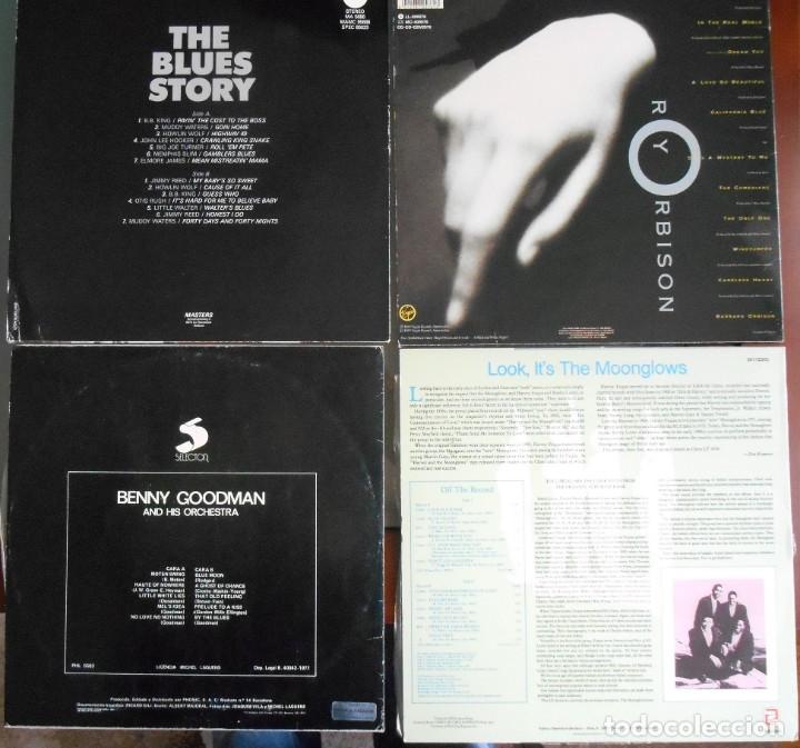 Discos de vinilo: lote de 4 LPS :roy Orbison-The blues history -benny goodman -The moonglows. - Foto 2 - 180911777