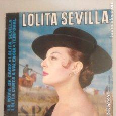 Dischi in vinile: LOLITA SEVILLA. Lote 180937548