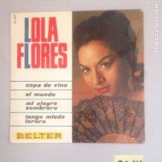 Discos de vinilo: LOLA FLORES. Lote 180940068