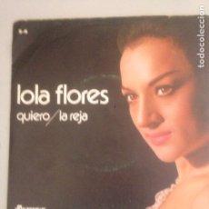 Discos de vinilo: LOLA FLORES. Lote 180942677