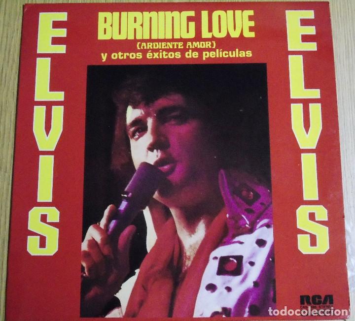 ELVIS PRESLEY --BURNING LOVE --RCA AÑO 1972--- A ESTRENAR (Música - Discos - LP Vinilo - Rock & Roll)