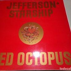 Discos de vinilo: JEFFERSON STARSHIP RED OCTOPUS . Lote 180946145