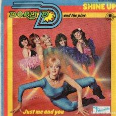 Discos de vinilo: ENVÍO CERTIFICADO - SINGLE DORIS D AND THE PINS- CARNABY 1981 - ENVÍO MÍNIMO EN LOTES 5 €.. Lote 180946815