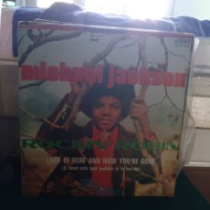 Discos de vinilo: MICHAEL JACKSON, ROCKIN ROBIN MOTOWN 1972. Lote 180949836