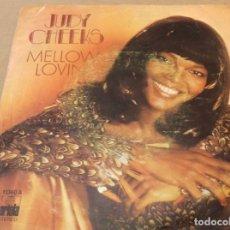 Discos de vinilo: JUDY CHEEKS. MELLOW LOVIN' / DARLING, THAT'S ME. ARIOLA 1978. Lote 180951947