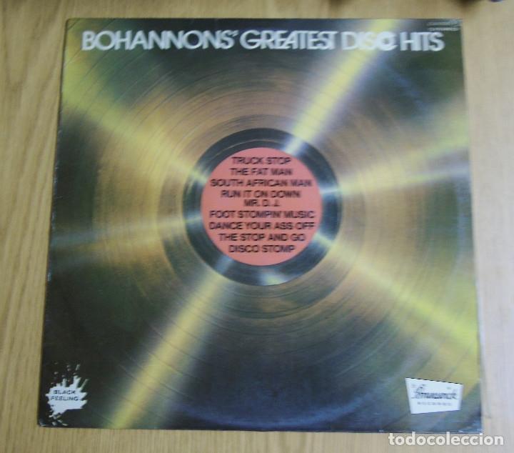 BOHANNONS -----GREATEST DISCO HITS 1977 ( NUEVO ) (Música - Discos - LP Vinilo - Disco y Dance)