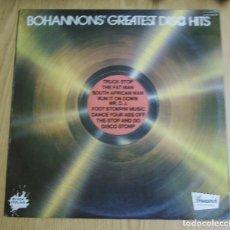 Discos de vinilo: BOHANNONS -----GREATEST DISCO HITS 1977 ( NUEVO ). Lote 180954398