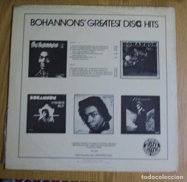 Discos de vinilo: BOHANNONS -----GREATEST DISCO HITS 1977 ( NUEVO ) - Foto 2 - 180954398