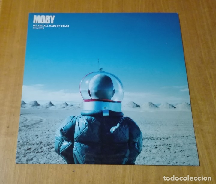 MOBY - WE ARE ALL MADE OF STARS (REMIXES) (MAXI 12'' 2002, MUTE 12MUTE268 5016025202683) NUEVO (Música - Discos de Vinilo - Maxi Singles - Electrónica, Avantgarde y Experimental)
