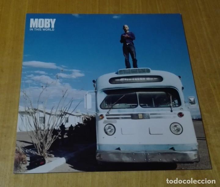 MOBY - IN THIS WORLD (MAXI 12'' 2002, MUTE 12MUTE276 0724354684067) NUEVO (Música - Discos de Vinilo - Maxi Singles - Electrónica, Avantgarde y Experimental)