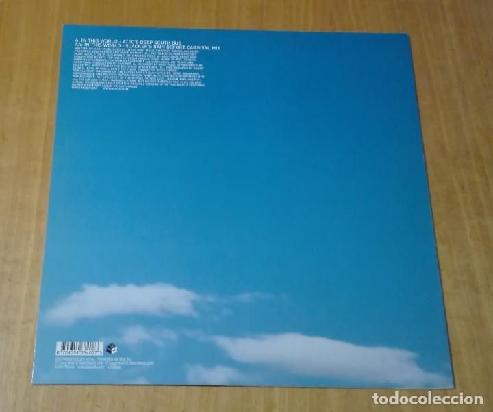 Discos de vinilo: MOBY - In This World (Maxi 12 2002, Mute 12MUTE276 0724354684067) NUEVO - Foto 2 - 211481369