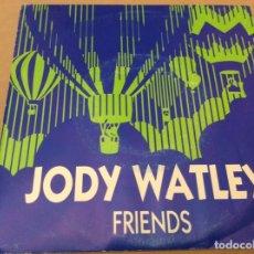 Discos de vinilo: JODY WATLEY - FRIENDS. PROMOCIONAL , MCA RECORDS 1989.. Lote 180959272