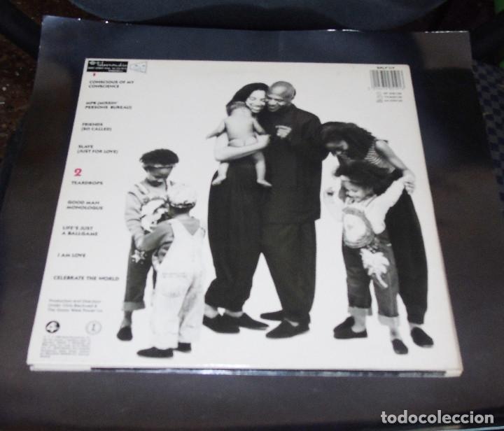 Discos de vinilo: WOMACK & WOMACK --L.P.--CONSCIOUS OF MY CONSCIENCIE & CELEBRATE THE WORLD + 7 ---Mint ( M ) - Foto 2 - 180960118