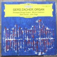 Discos de vinil: GERD ZACHER, ORGAN. DEUTSCHE GRAMMOPHON, 139 442. ALEMANIA, 1970. FUNDA VG+, DISCO VG++. Lote 180961626
