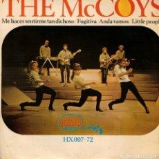 Discos de vinilo: THE MCOYS - ME HACES SENTIR TAN DICHOSO - EP SPAIN 1966. Lote 180962793