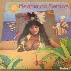 Discos de vinilo: REGINA DO SANTOS. MEU CARNAVAL. HORUS 1988.. Lote 180964972