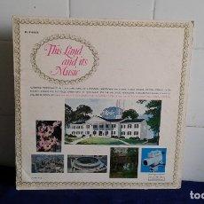 Discos de vinilo: THIS LAND AND ITS MUSIC LP. Lote 180966036