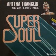 Discos de vinilo: ARETHA FRANKLIN SUS MAS GRANDES EXITOS LP. Lote 180967582