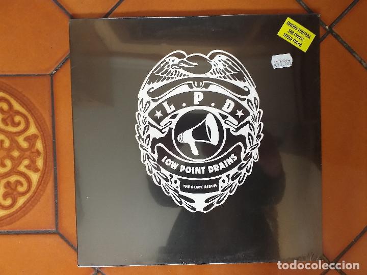 LOW POINT DRAINS – THE BLACK ALBUM. LP. 2012. SIN ESTRENAR. (Música - Discos - LP Vinilo - Pop - Rock Extranjero de los 90 a la actualidad)