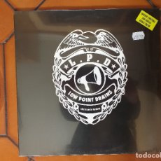 Discos de vinilo: LOW POINT DRAINS – THE BLACK ALBUM. LP. 2012. SIN ESTRENAR.. Lote 180968985