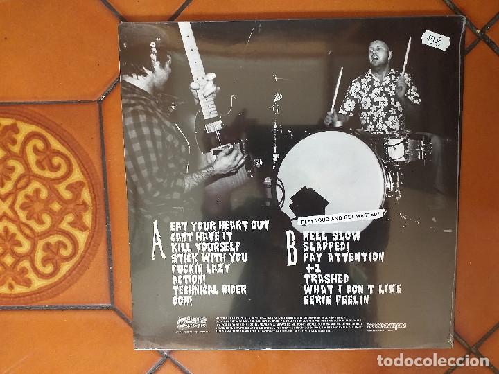 Discos de vinilo: Low Point Drains – The Black Album. LP. 2012. SiN ESTRENAR. - Foto 2 - 180968985