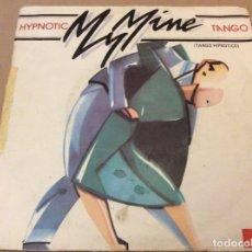Discos de vinilo: MY MINE - HYPNOTIC TANGO (TANGO HIPNÓTICO). POLYDOR 1984.. Lote 180972797