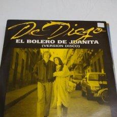 Discos de vinilo: FERNANDO DE DIEGO – EL BOLERO DE JUANITA. Lote 180973141