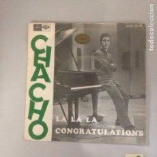 Discos de vinilo: EL CHACHO. Lote 180975005