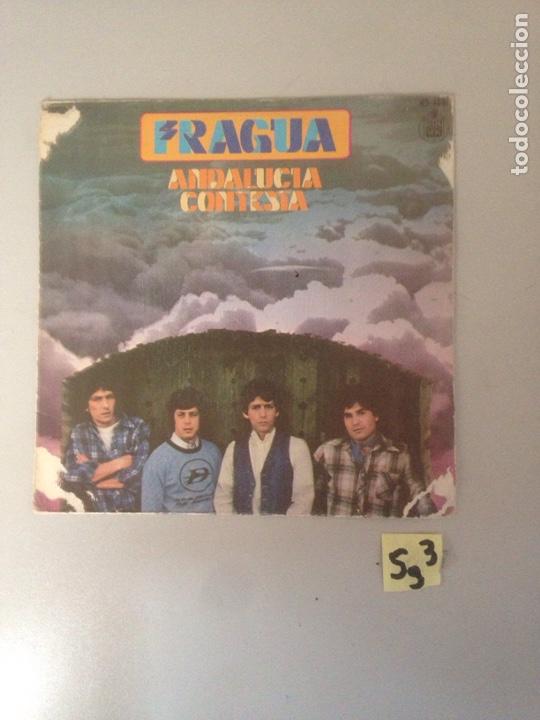 FRAGUA ANDALUCÍA CONTESTAS (Música - Discos - Singles Vinilo - Flamenco, Canción española y Cuplé)