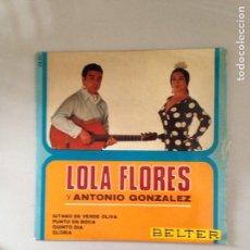 Discos de vinilo: LOLA FLORES. Lote 180979320