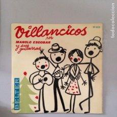 Discos de vinilo: VILLANCICOS. Lote 180979710