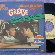 Discos de vinilo: SINGLE. GREASE. YOU'RE THE ONE THAT WANT.... Lote 180981531