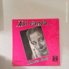 Discos de vinilo: CONCHITA PIQUER. Lote 180981692
