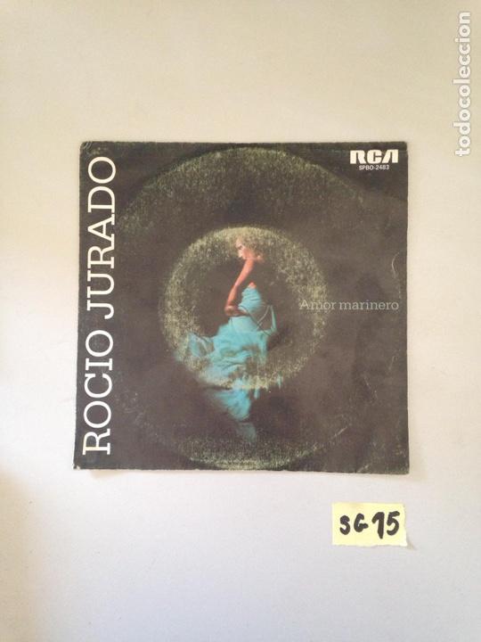 ROCIÓ JURADO (Música - Discos - Singles Vinilo - Flamenco, Canción española y Cuplé)
