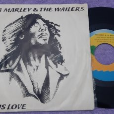 Discos de vinilo: BOB MARLEY AND THE WAILERS. IS THIS LOVE. CRISIS. Lote 180984347