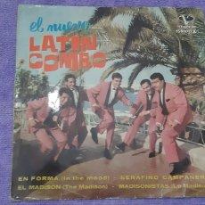 Discos de vinilo: EL NUEVO LATIN COMBO. EN FORMA. SERAFINO..EL MADISON. EL MADISONISTA.. Lote 180984706