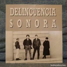 Discos de vinilo: DELINCUENCIA SONORA - LA LEY / DESDE EL FONDO... / VAGABUNDO - EP (BASATI DISKAK, 1988) PUNK ROCK EX. Lote 180987726
