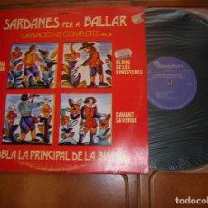 Discos de vinilo: LP SARDANES PER A BALLAR ,COBLA LA PRINCIPAL DE LA BISBAL. Lote 180991770