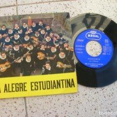 Discos de vinilo: DISCO LA ALEGRE ESTUDIANTINA AÑO 1960. Lote 180993050