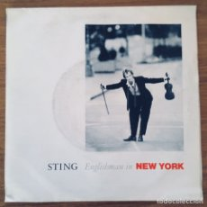 Disques de vinyle: STING ENGLISH MAN IN NEW YORK SINGLE. Lote 180995753