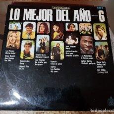Discos de vinilo: LP - HISPAVOX - LO MEJOR DEL AÑO 6. Lote 180996235
