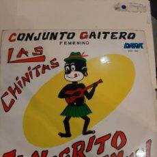 Discos de vinilo: LAS CHINITAS CONJUNTO GAITERO FEMENINO GANADORAS NARA DE ORO 1969 VENEZUELA. Lote 181000457