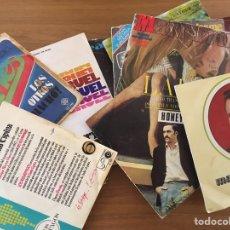 Discos de vinilo: LOTE 45 DISCOS PEQUEÑOS 25 CON PORTADA Y RESTO SOLO DISCOS. Lote 181006471