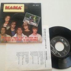 Discos de vinilo: MAMA - CHICAS DE COLEGIO +3 - EP POLYDOR 1980 // LTD NUMERADO 1667 // POWER POP MOVIDA POWERPOP. Lote 181006533