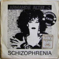 Discos de vinilo: ARMANDE ALTAÏ-SCHIZOPHRENIA, EDIGSA 01P0479. Lote 181008352