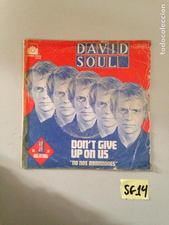 DAVID SOUL (Música - Discos - Singles Vinilo - Jazz, Jazz-Rock, Blues y R&B)