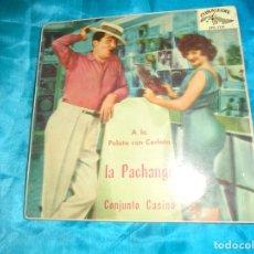 Disques de vinyle: CONJUNTO CASINO. LA PACHANGA / A LA PELOTA CON CARLOTA + 2. EP. CUBALEGRE, 1961. Lote 181014486